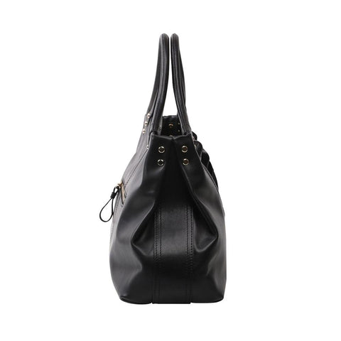 Image of Feather Black Tote