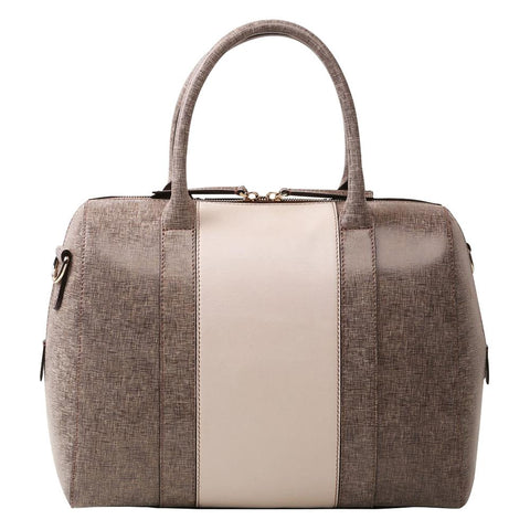 Image of Calligraphy Brown Satchel