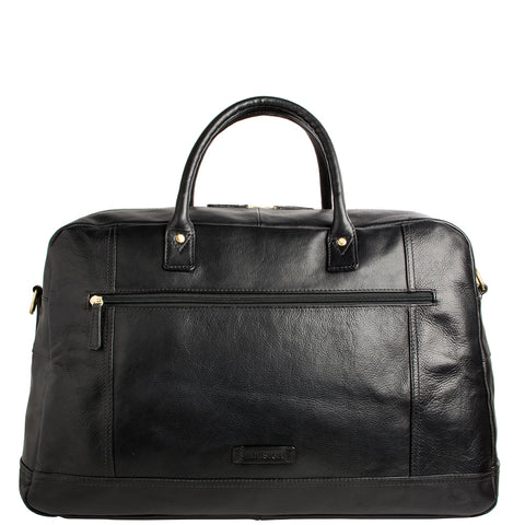 Hunter Cabin Sized Duffel in Classic Leather