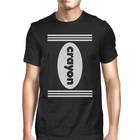 Crayon Mens Black Shirt