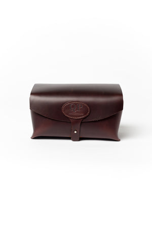 Men's Toiletry Case - Dopp Kit, Brown - Monogram