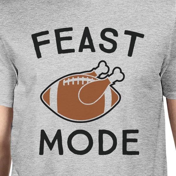 Feast Mode Mens Grey Shirt
