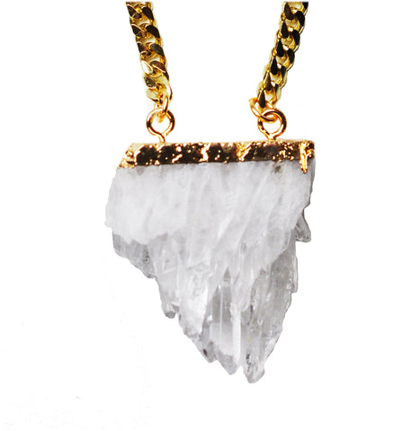 Crystal Stalactite Necklace