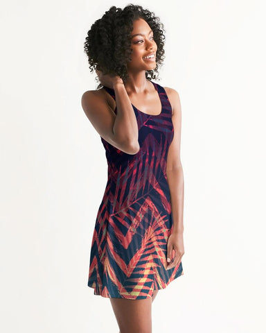 Women's Olivia II Fun and Flirty Casual Racerback Dress