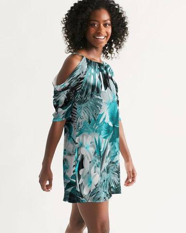 Image of Women's My Sundays Casual Open Shoulder A-Line Dress