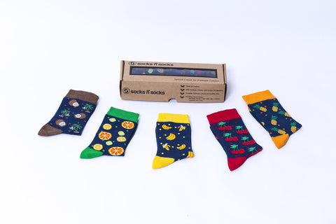 Cheerful Fruits Socks