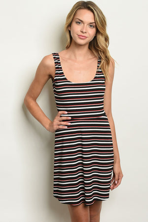 Womens Stripes Dress