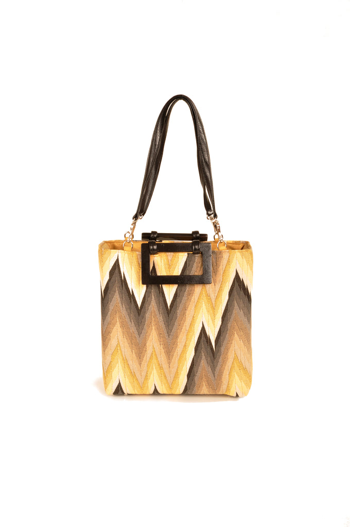 Flame Gold Small Tote