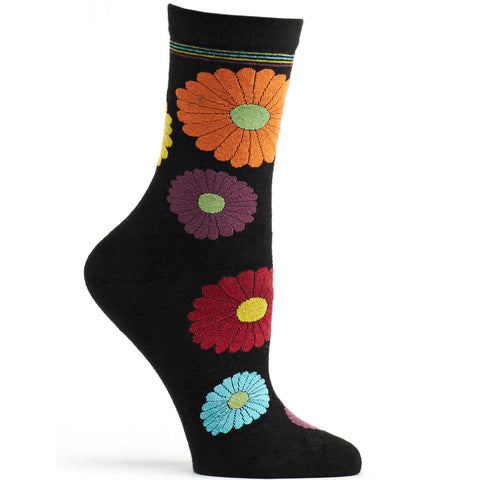 Image of Mini Flower Power Angora Sock