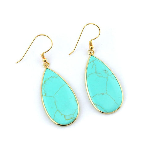 Image of Tess Gemstone Earrings