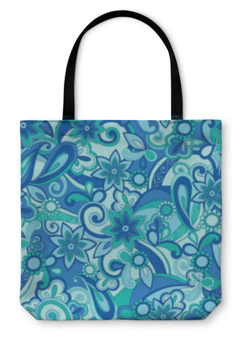Image of Tote Bag, Psychedelic Pucci Pattern