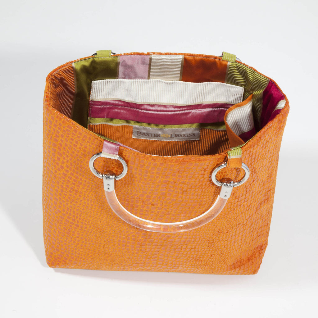Boa Orange Small Tote