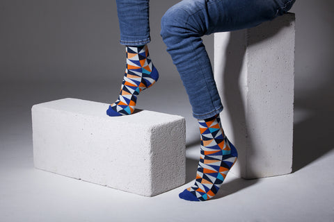 Stylish Triangle Socks