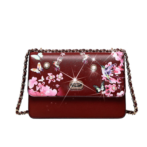 Hummingbird Cross-body Clutch