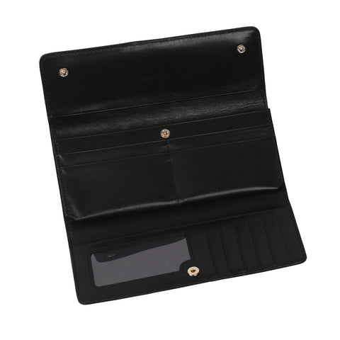 Image of Cloud Black Continental Wallet