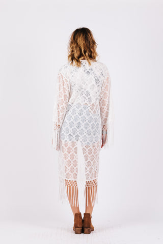 Image of LOVE LACE CAFTAN