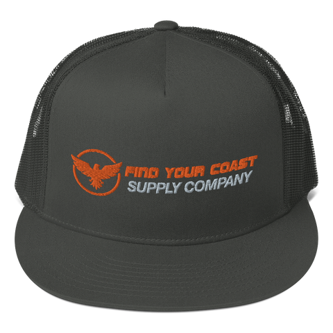 Find Your Coast Supply Company Mesh Back Adjustable Snapback Hat