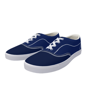FYC Canvas Lace Up Two Tone Boat Shoes (men's and women's sizing)
