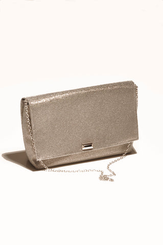 Image of Mist Silver clutch