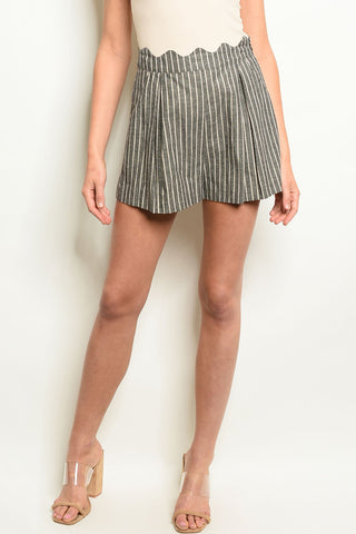 Womens Stripes Shorts