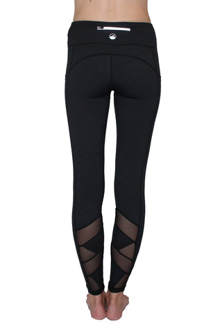 Black Mesh - Pocket Pant
