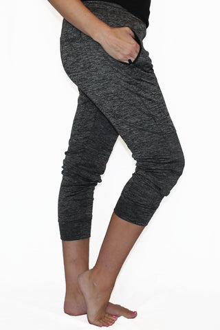 Image of Fleece Lined Pocket Joggers - Gray