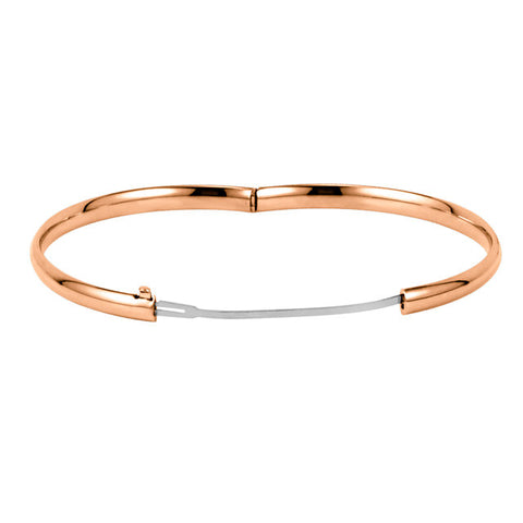 Hinged Bangle Bracelet 4.75mm
