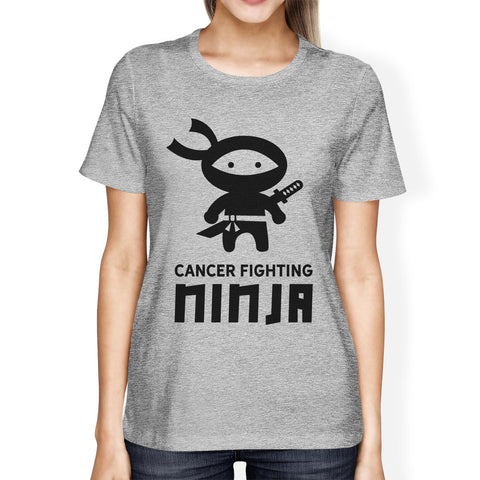 Image of Cancer Fighting Ninja Womens Shirt