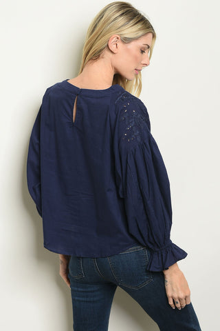 Image of Womens Poplin Top