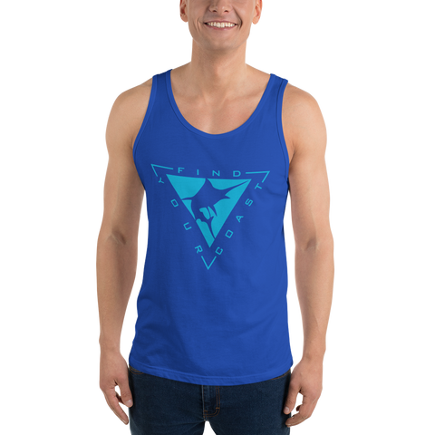 Men's Blue Coast Fishing Classic Tank Top
