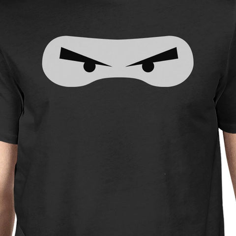 Ninja Eyes Mens Black Shirt