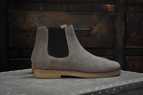 Image of The Maddox 2 | Grey Suede