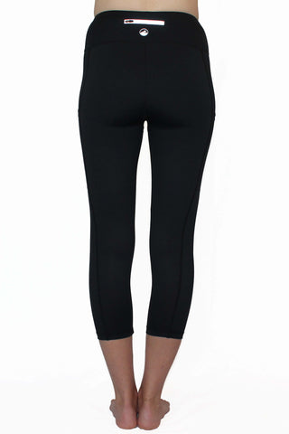 Everyday Black - Pocket Capri