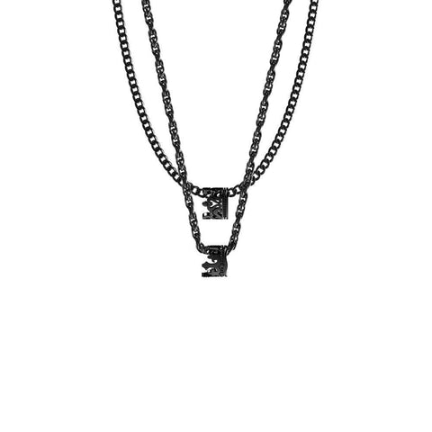 Image of Mister King & Queen Necklace