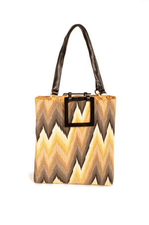 Flame Gold  Large Tote