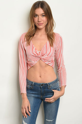 Image of Womens Stripes Top