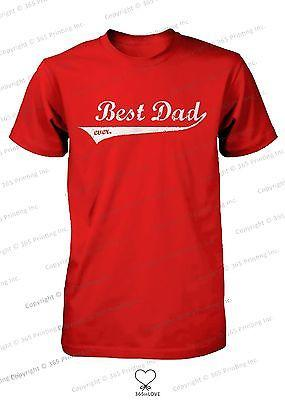 Image of Best Dad Ever Swash Style T-Shirt - Father's Day Gift Idea, Gift for Dad