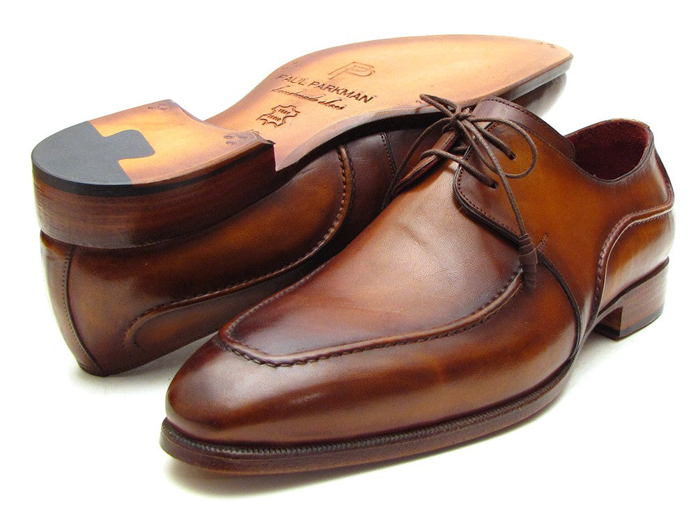 Paul Parkman Brown Derby Dress Shoes For Men (ID#SU12LF)