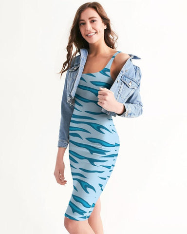 Image of Women's Energizer Casual and Fun Midi Bodycon Dress