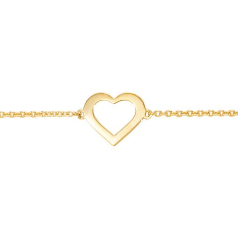 Image of Heart Design Bracelet