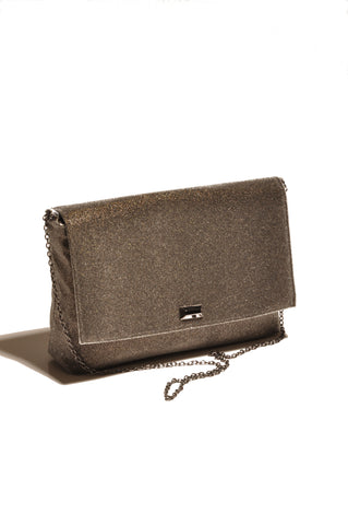 Image of Mist Pewter clutch