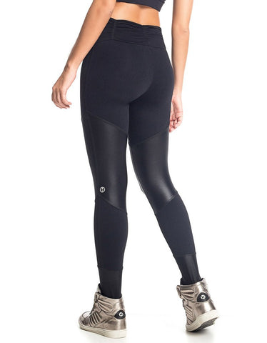 Image of LEGGING FUSO PLIABLE VESTEM BLACK