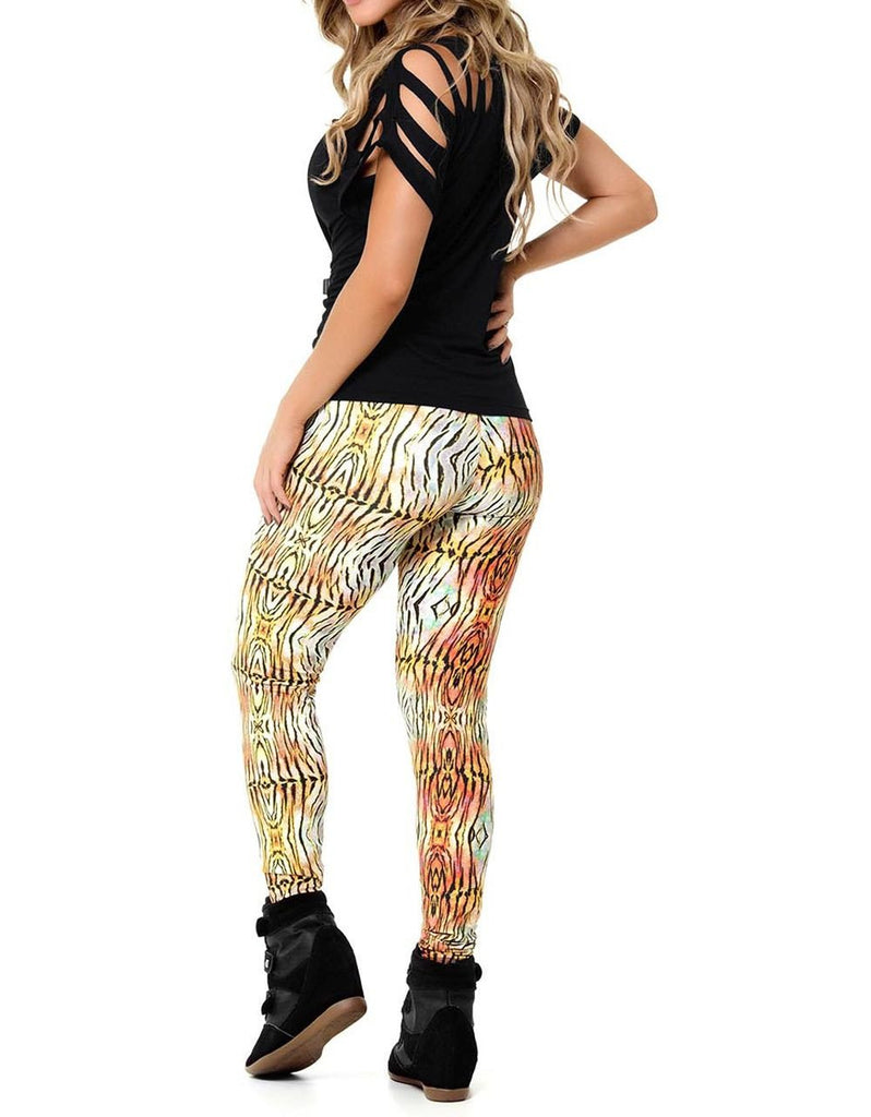 LEGGING 206 YOU BY YOU DIGITAL ANIMAL PRINT