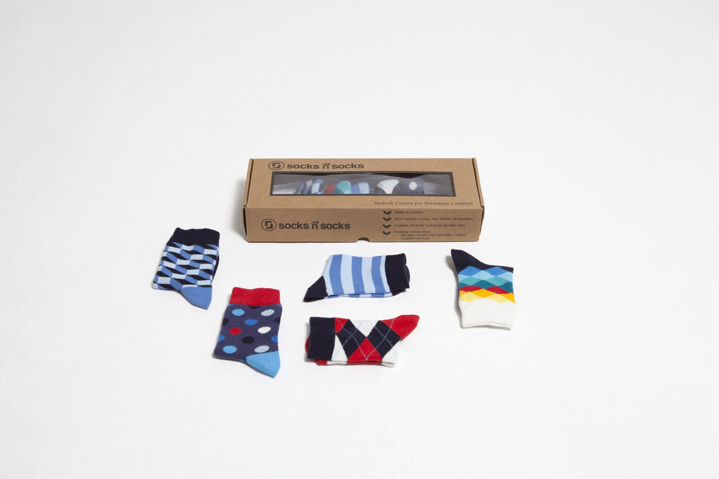 Natural Mix Set Socks