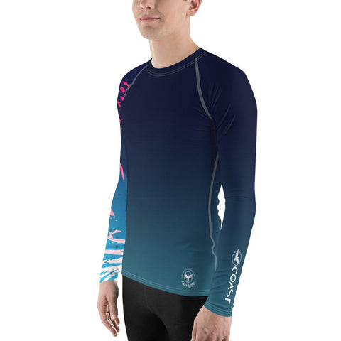 Image of Men's Victory Sleeve Performance Rash Guard UPF 40+