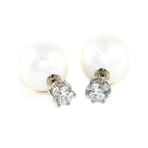 Image of Pearl Drop Earrings