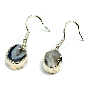 Nikki Tiny Agate Earrings