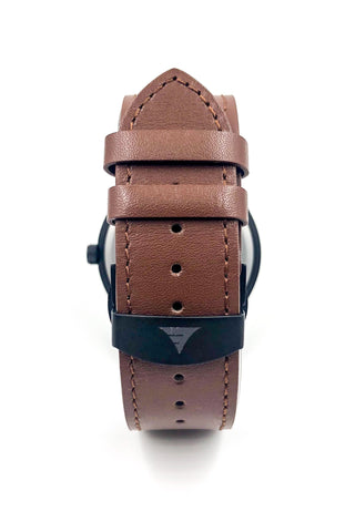 Inverness | Multi Bamboo | Brown Leather