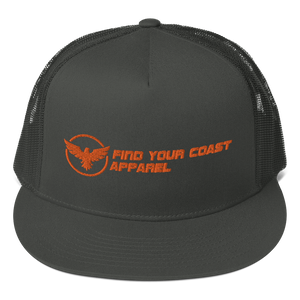 Find Your Coast Classic Mesh Back Adjustable Snapback Hat