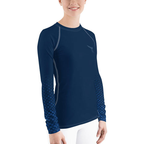 Image of Women's Lady Ocean Performance Rash Guard UPF 40+